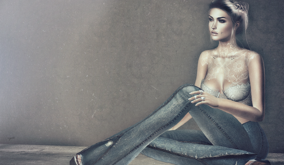 because, blue jeans…